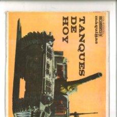 Libros de segunda mano: TANQUES DE HOY. (COLECCIÓN HOMBRES Y MÁQUINAS).. Lote 84201128