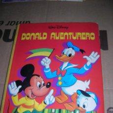 Libros de segunda mano: DONALD AVENTURERO. © WALT DISNEY PRODUCTIONS - CIRCULO DE LECTORES, AÑO 1982.. Lote 84463084