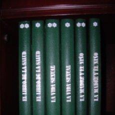 Libros de segunda mano: EICLOPEDIA FAMILIAR DE LA SALUD (6 TOMOS) DE 1974. PRÁCTICAMENTE NUEVOS.. Lote 84614704