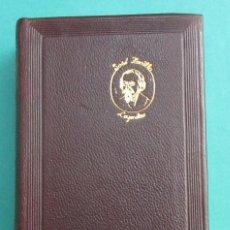 Libros de segunda mano: LEYENDAS. JOSÉ ZORRILLA. AGUILAR. COL. JOYA, 1963. PIEL. 1696 PÁGINAS.. Lote 84830068