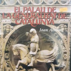 Libros de segunda mano: EL PALAU DE LA GENERALITAT DE CATALUNYA,JOAN AINAUD.VOL.2, LLIBRE NOU I PRECINTAT.. Lote 84865216