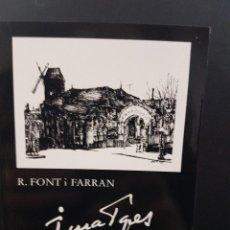 Libros de segunda mano: IMATGES DE PARIS, DIBUIXOS. JOAN SOLER-JOVÉ, R. FONT I FERRAN.. Lote 84867540
