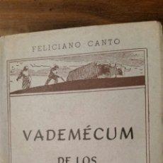 Libros de segunda mano: VADEMÉCUM DE LOS ABONOS. TIP.