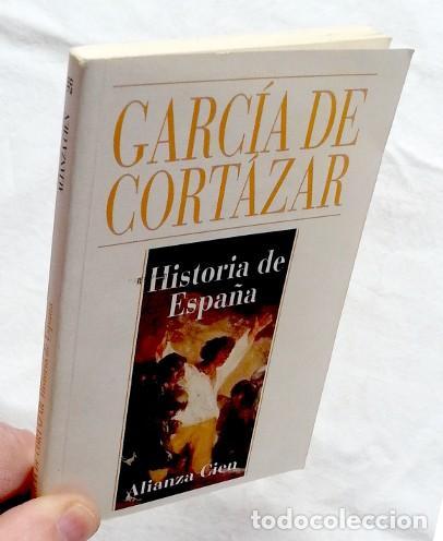 Libros de segunda mano: Historia de España Alianza cien - Fernando García de Cortázar - Foto 3 - 91715358