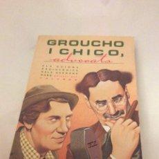 Libros de segunda mano: GROUCHO I CHICO, ADVOCATS. Lote 85132892