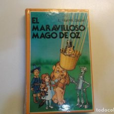 Libros de segunda mano: EL MARAVILLOSO MAGO DE OZ L-FRANK BAUM 1980 ED ESPAÑOLA CON DIBUJOS. Lote 85133640