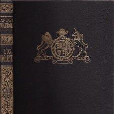 Libros de segunda mano: MAUROIS, ANDRÉ: LOS INGLESES.BARCELONA,SURCO1944. Lote 85164868