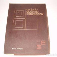 Libros de segunda mano: VV. AA. CONJUNTO DIDÁCTICO TRANSVISIONAL. RM80240. . Lote 85185876