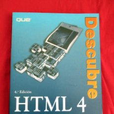 Libros de segunda mano: HTML 4 ANNE PHILLIPS. PRENTICE HALL 2000. Lote 85266044