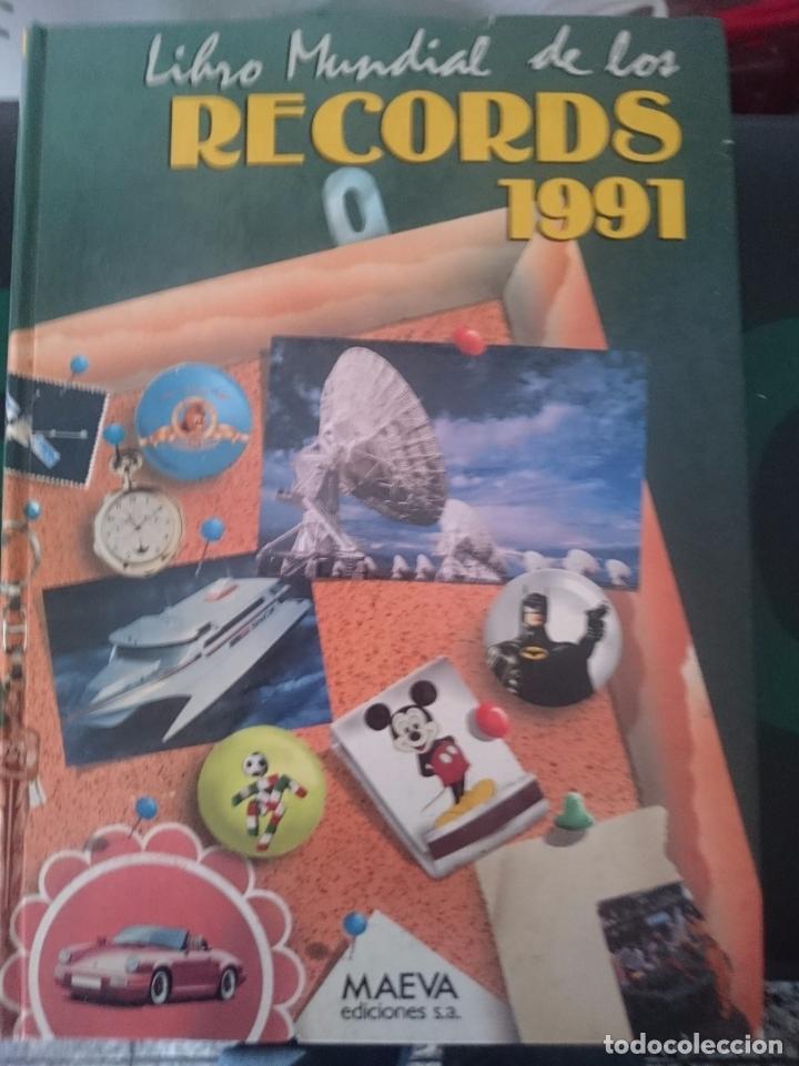 LIBRO MUNDIAL DE LOS RECORDS 1991 (Libros de Segunda Mano - Ciencias, Manuales y Oficios - Otros)