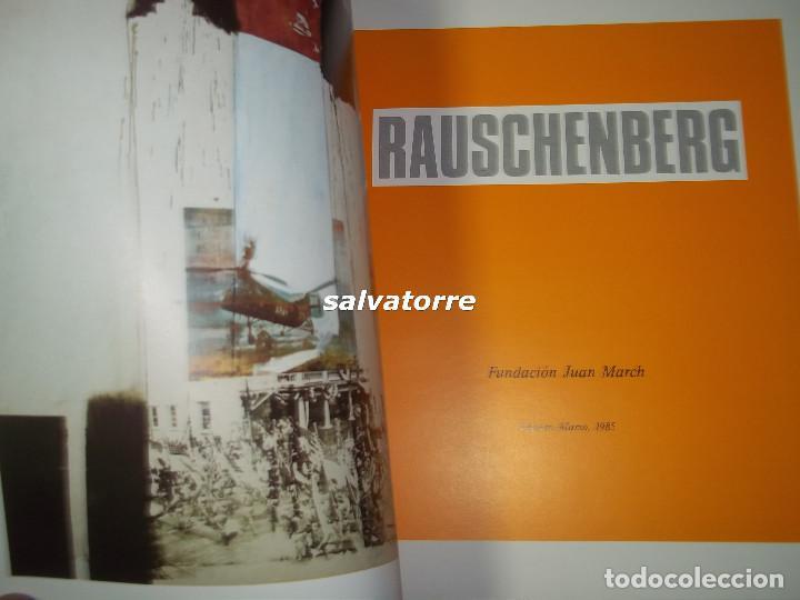 Libros de segunda mano: RAUSCHENBERG.FUNDACION JUAN MARCH.1995. - Foto 2 - 85572828