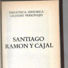 Libros de segunda mano: SANTIAGO RAMON Y CAJAL. 1º EDICION. 1983. EDICIONES URBION. HYSPAMERICA. Lote 85587108