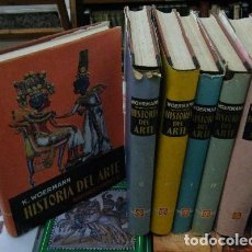 Libros de segunda mano: HISTORIA DEL ARTE. 6 TOMOS A-ART-1902. Lote 85718492