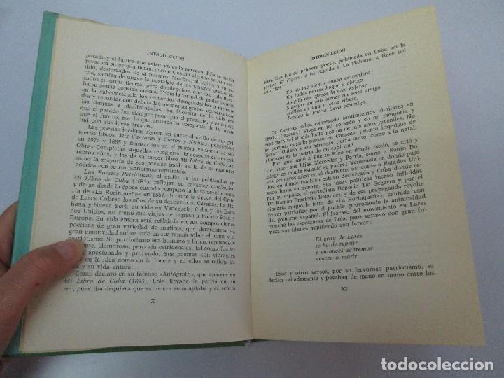 Libros de segunda mano: LOLA RODRIGUEZ DE TIO. OBRAS COMPLETAS. TOMO II-IV Y V. VER FOTOGRAFIAS ADJUNTAS - Foto 9 - 85784908