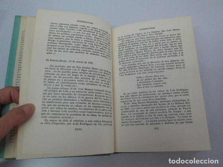 Libros de segunda mano: LOLA RODRIGUEZ DE TIO. OBRAS COMPLETAS. TOMO II-IV Y V. VER FOTOGRAFIAS ADJUNTAS - Foto 10 - 85784908