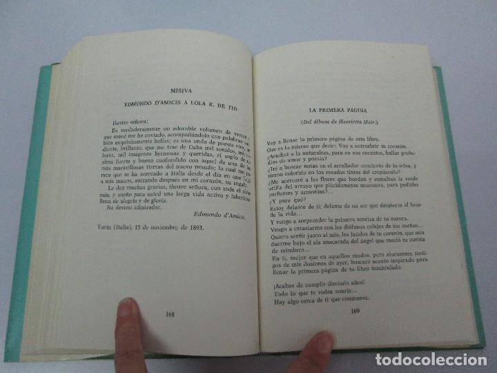 Libros de segunda mano: LOLA RODRIGUEZ DE TIO. OBRAS COMPLETAS. TOMO II-IV Y V. VER FOTOGRAFIAS ADJUNTAS - Foto 23 - 85784908