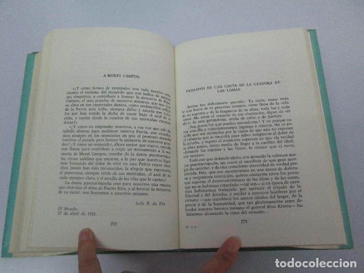 Libros de segunda mano: LOLA RODRIGUEZ DE TIO. OBRAS COMPLETAS. TOMO II-IV Y V. VER FOTOGRAFIAS ADJUNTAS - Foto 26 - 85784908
