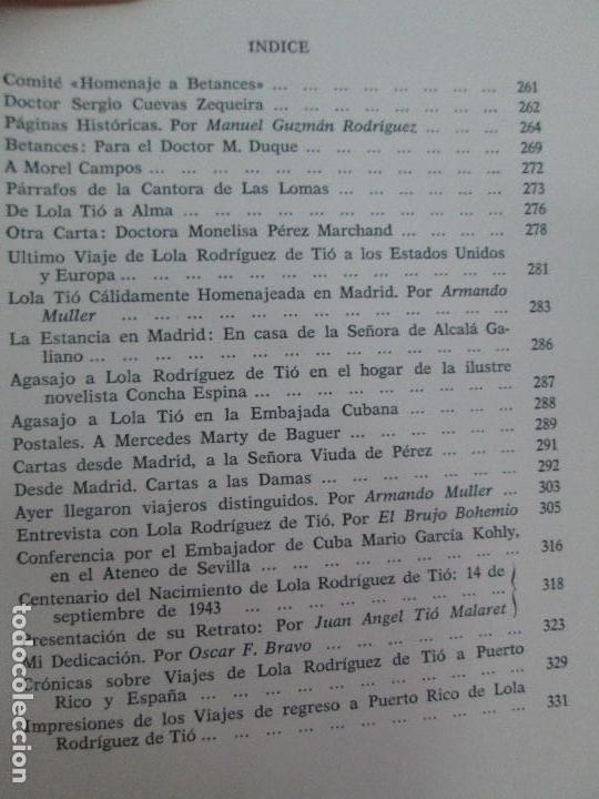 Libros de segunda mano: LOLA RODRIGUEZ DE TIO. OBRAS COMPLETAS. TOMO II-IV Y V. VER FOTOGRAFIAS ADJUNTAS - Foto 30 - 85784908