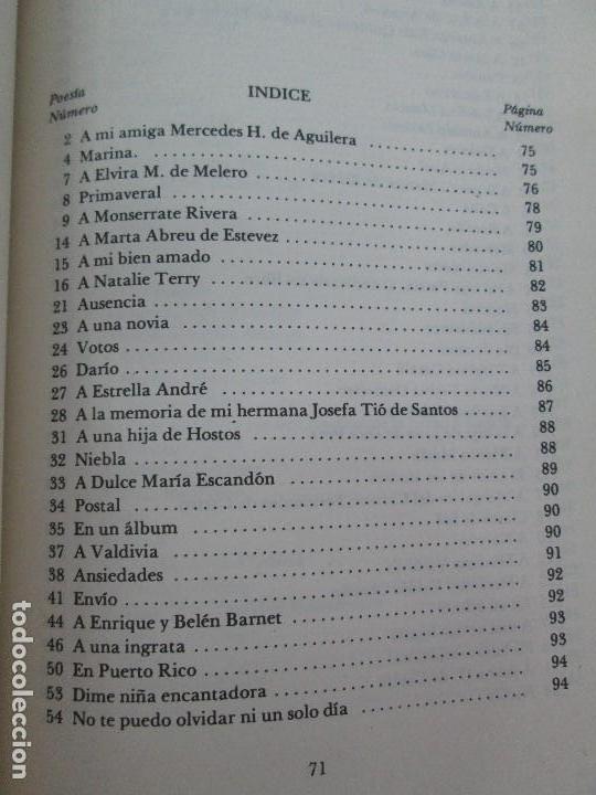 Libros de segunda mano: LOLA RODRIGUEZ DE TIO. OBRAS COMPLETAS. TOMO II-IV Y V. VER FOTOGRAFIAS ADJUNTAS - Foto 40 - 85784908