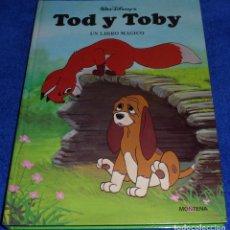 Libros de segunda mano: TOD Y TOBY - LIBRO POP UP - POP UP BOOK - MONTENA (1981) ¡DIFÍCIL!. Lote 85793072