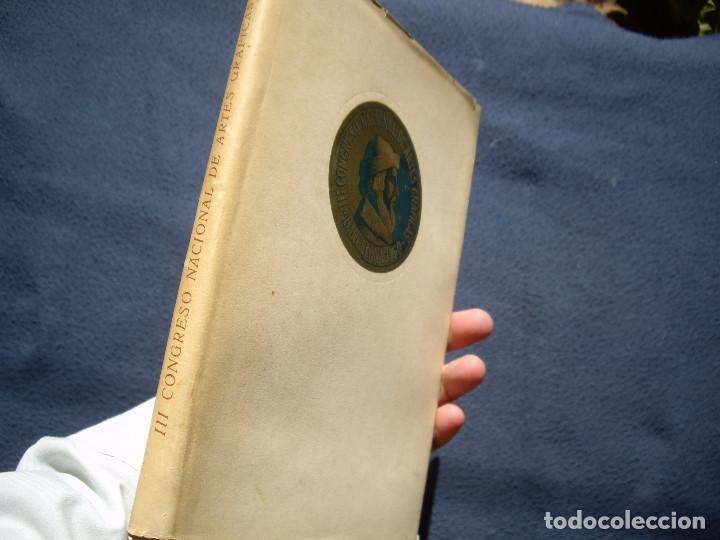 Libros de segunda mano: III CONGRESO NACIONAL DE ARTES GRAFICAS. BARCELONA 1950 - Foto 9 - 85893564