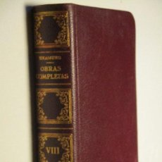 Libros de segunda mano: UNAMUNO, OBRAS COMPLETAS (VIII : LETRAS DE AMÉRICA Y OTRAS LECTURAS) · AFRODISIO AGUADO, 1958. Lote 85928084