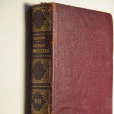 Libros de segunda mano: UNAMUNO, OBRAS COMPLETAS (VII : PRÓLOGOS-CONFERENCIAS-DISCURSOS) · AFRODISIO AGUADO, 1958. Lote 85928312