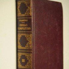 Libros de segunda mano: UNAMUNO, OBRAS COMPLETAS (III : ENSAYO [ 1 ]) · AFRODISIO AGUADO, 1958. Lote 85928520