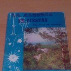 Libros de segunda mano: LIBO DE FIESTAS LA ALBERCA MURCIA 1968 -VER FOTOS. Lote 86099752