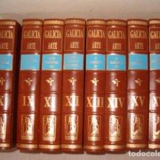 Libros de segunda mano: VV.AA. GALICIA. ARTE. OCHO TOMOS. RM80504. . Lote 86111384