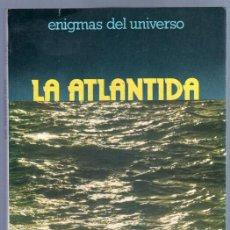 Libros de segunda mano: LA ATLANTIDA - JOSE J. LLOPIS - EDICIONES DAIMON 1978 - 240 PGS.- ENIGMAS DEL UNIVERSO. Lote 86158764