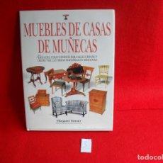 Libros de segunda mano: LIBRO CASAS DE MUÑECAS,TAPA DURA. Lote 86254880