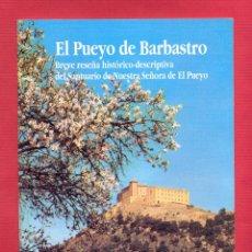 Libros de segunda mano: EL PUEYO DE BARBASTRO POR P. MIGUEL RAMOS TAPA BLANDA 30 PAGS. AÑO 1988 LH322. Lote 86255284