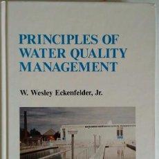 Libros de segunda mano: PRINCIPLES OF WATER QUALITY MANAGEMENT. DEPURADORAS. GESTION DE LA CALIDAD DEL AGUA. TEXTO EN INGLÉS. Lote 86256460