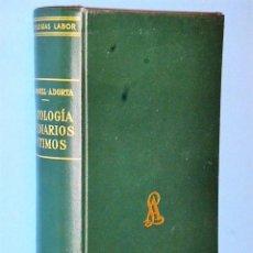 Libros de segunda mano: ANTOLOGÍA DE DIARIOS ÍNTIMOS. Lote 86386512