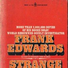 Libros de segunda mano: STRANGE WORLD - FRANK EDWARDS. Lote 86398576