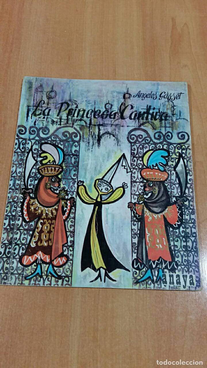 LA PRINCESA CAUTIVA. ANGELES GASSET. EDIT ANAYA 1964 (Libros de Segunda Mano - Literatura Infantil y Juvenil - Otros)