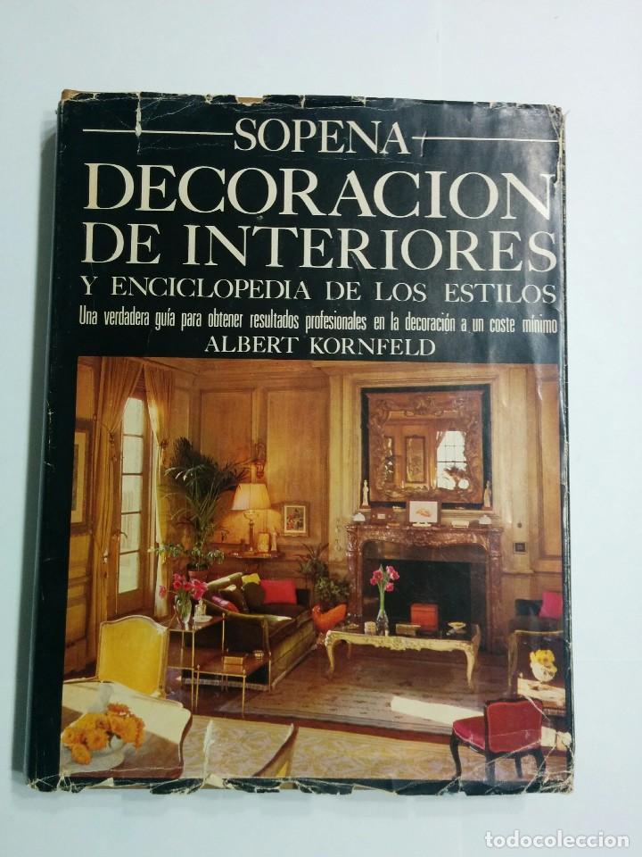Decoraci n de interiores y enciclopedia de los comprar - Libros de decoracion de interiores ...