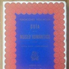 Libros de segunda mano: GUÍA DEL MUSEO ROMÁNTICO. 1970. MARIA ELENA GÓMEZ-MORENO. Lote 86487588