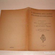 Libros de segunda mano: EL SENTIMIENTO LÍRICO MATERNO EN LA PINTURA DE OVIDIO MURGUÍA. RM80876. . Lote 86805444