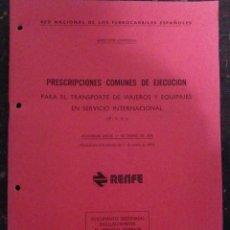 Libros de segunda mano: RENFE. Lote 86811664