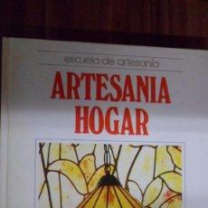 Libri di seconda mano: MANUALIDADES. ESCUELA DE ARTESANIA. ARTESANÍA HOGAR. QUORUM. Lote 86828868