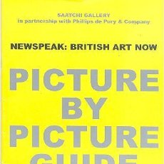 Libros de segunda mano: SAATCHI GALLERY NEWSPEAK: BRITISH ART NOW. Lote 86831096