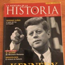 Libros de segunda mano: LA AVENTURA DE LA HISTORIA. NÚMERO 61. KENNEDY, EL ASESINATO. Lote 86906266