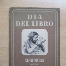 Libros de segunda mano: MEMORIAS DE UN APRENDIZ DE LIBRERO .... Lote 86939240
