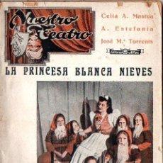 Libros de segunda mano: CELIA MANTUA : LA PRINCESA BLANCA NIEVES (ALAS, 1942) CON AUTÓGRAFO DE LA ESCRITORA. Lote 87036336