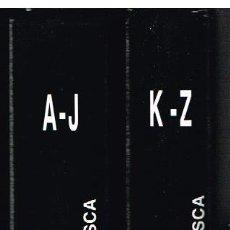 Libros de segunda mano: DICCIONARIO EUSKALDUNAK DE ETNOGRAFIA VASCA. CULTURA TRADICIONAL. ELKAR, 2 TOMOS - COMO NUEVOS. Lote 87060088