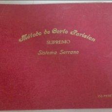 Libros de segunda mano: MÉTODO DE CORTE PARISIEN. Lote 87067724