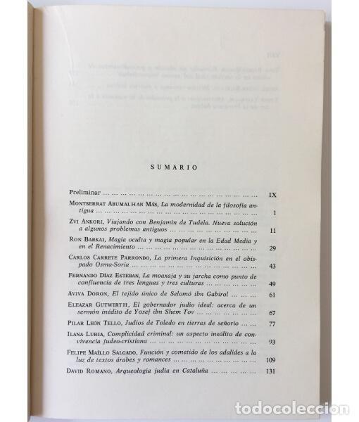 Libros de segunda mano: ACTAS DEL III CONGRESO INTERNACIONAL ENCUENTRO DE LAS TRES CULTURAS (TOLEDO, 15-17 OCTUBRE 1984) - Foto 3 - 85958598