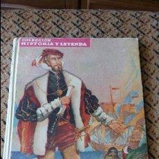 Libros de segunda mano: MAGALLANES Y EL CANO CONQUINSTADORES DEL MAR. JOSE MALLORQUI FIGUEROLA. MOLINO 1942. Lote 87317248